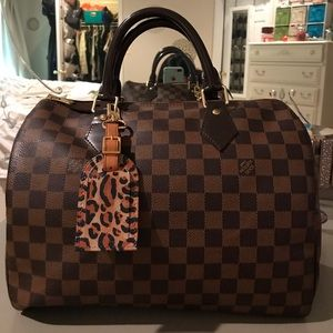 Louis Vuitton Luggage Tag (BAG NOT INCLUDED)